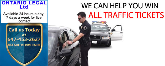 Ontario Legal Ltd | Traffic Tickets Toronto - Speeding Tickets